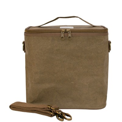 Premium Washable Paper Lunch Bag, Olive