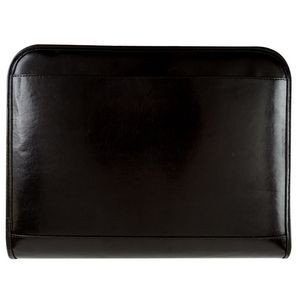 "Bonded Leather Ring Binder w/Contrast Stitching (1"")"