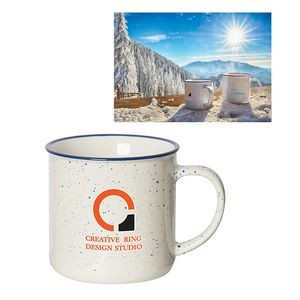 Beach House 350 Ml. (12 Oz.) Speckled Mug