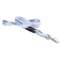 Trade Show Classic Lanyard w/Detachable Buckle Combo